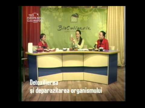Bioculinaria Detoxifierea si Deparazitarea Organismului CasaBIO