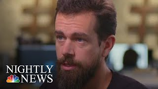 Extended Interview: Twitter CEO Jack Dorsey Talks Alex Jones & Election Security | NBC Nightly News - NBCNEWS