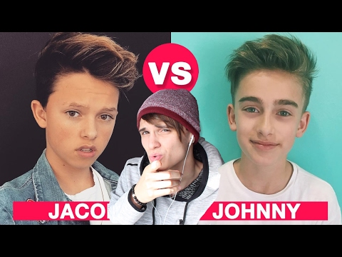 Jacob Sartorius VS Johnny Orlando Battle Musers REACTION