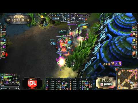 Moscow 5 vs Mm Wild Turtle Jukes - IPL4 Qualifier Highlight - League of Legends