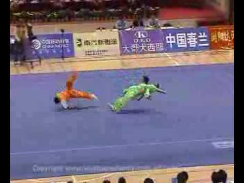 pelea de shaolin kung fu
