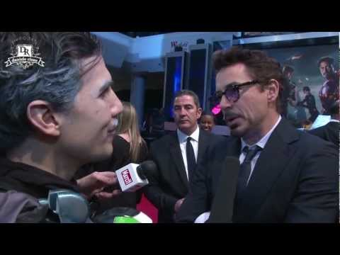 AVENGERS on RED CARPET meet IRON ITALIAN
