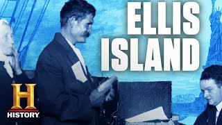 Immigrants at Ellis Island | History - HISTORYCHANNEL