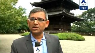 ABP News in Japan: Toji Temple, to be visited by Modi - ABPNEWSTV