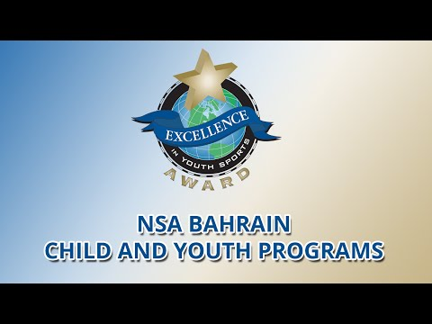 NSA Bahrain Child and Youth Programs wins Excellence in Youth Sports Award (2015)