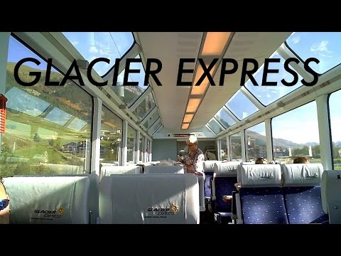 Glacier Express: scenic ride through Alps - Switzerland 7/13 (HD)