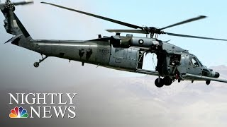 U.S. Air Force Helicopter Crashes Near Iraq Border, Killing Seven On Board | NBC Nightly News - NBCNEWS