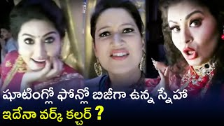 Sneha, Laila & Sudha Chandran comedy At Dance Jodi Dance Juniors Set - RAJSHRITELUGU