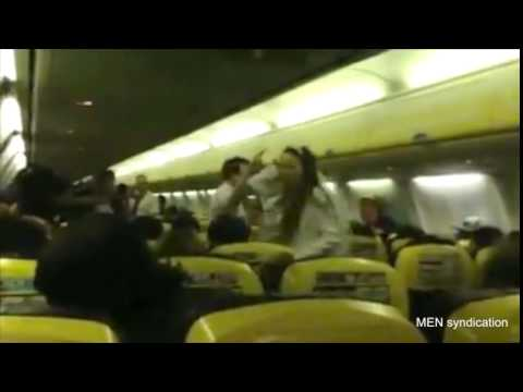 Hen party fight on plane to Barcelona as bride to be punches friend  Mail Online