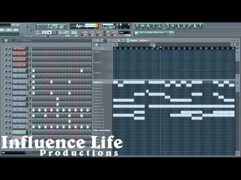 Inspirational Hip Hop Instrumental - Influence Life Productions