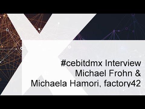 #cebitdmx Interview mit M. Frohn & M. Hamori, factory42