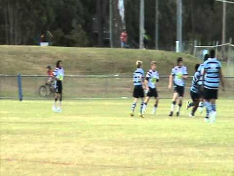 ORRLFC U13 vs Ormeau Shearers - Gold Coast 2011 (Vid 2)