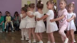 Студия современного танца // открытый урок // Дивный Мир - детский сад г.Омска
