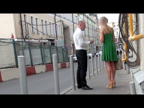 Московский пикап: быстрое знакомство с девушкой