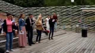 Мастер-класс по вокалу в Парке Горького