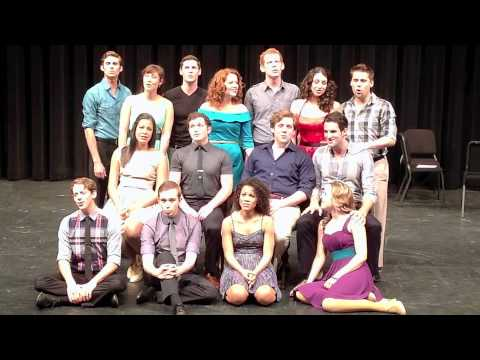"CCM Musical Theatre Class of  2012 - "" Somewhere Over the Rainbow"""