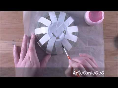 Bol decorado con grabado en vidrio