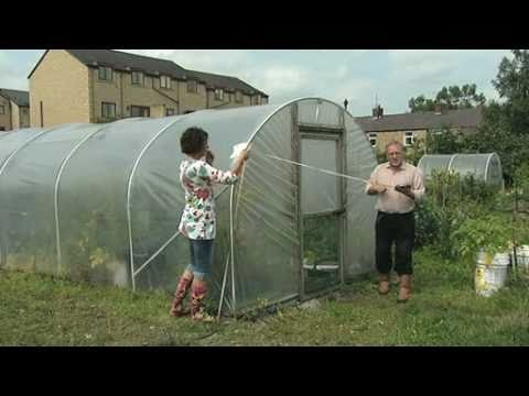 How to measure a Polytunnels polythene cover - V69