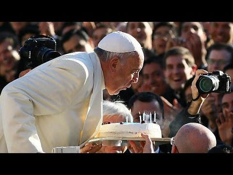 Pope Francis turns 78 with tango and tea in St Peter