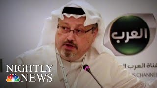 Saudi Prosecutors: Crown Prince Was Unaware Of Jamal Khashoggi Operation | NBC Nightly News - NBCNEWS