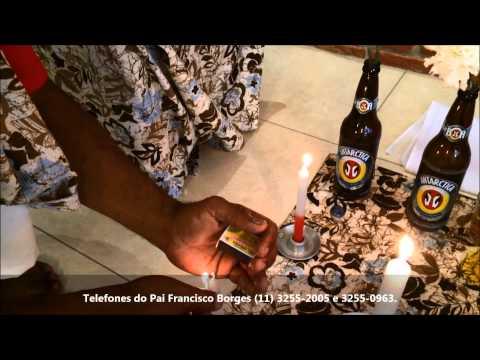 Trabalho de Magia para abertura de caminhos com Pai Francisco Borges 11 3255 2005