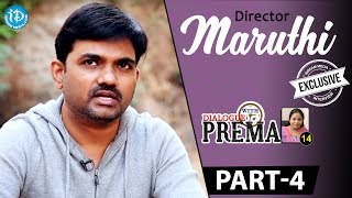 Director Maruthi Exclusive Interview Part 4 || Dialogue With Prema || Celebration Of Life - IDREAMMOVIES