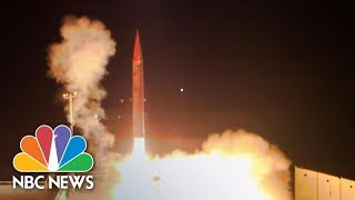 Israel Tests Weapon That Can Shoot Down Ballistic Missiles | NBC News - NBCNEWS