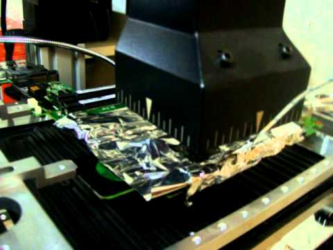 Hp Pavillion tx2500 Reflow using Infared Machine