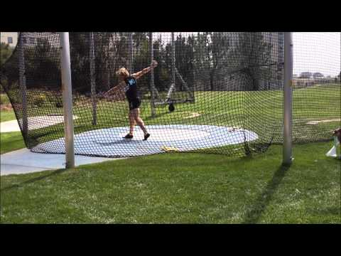 Elite Women's Discus, Olympic Training Center Competition Throws