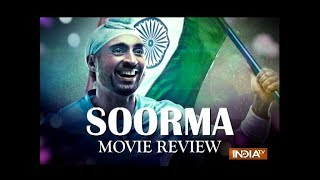 Soorma Movie Review: Diljit Dosanjh as Sandeep Singh is true to life but Shaad Ali misses the goal - INDIATV