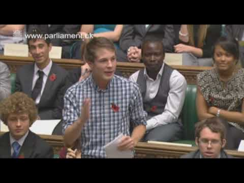 UK Youth Parliament highlights