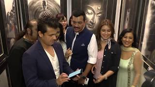 Sonu Nigam & Mahima Chaudhry At INAUGURATION Of 7th Edition Of The PRESTIGIOUS India Art Festival - HUNGAMA