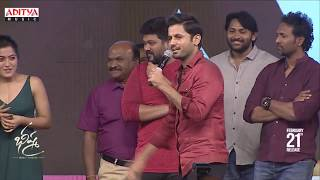 Nithiin Making Fun With Rashmika @ Bheeshma Pre Release Event - ADITYAMUSIC