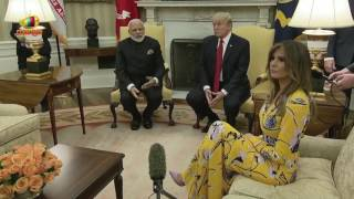 Donald Trump Congrats PM Modi For His Deligence Towards India | Mango News - MANGONEWS