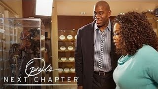Magic Johnson Shows Insane Trophy Room To Oprah