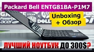 Packard Bell (by Acer) ENTG81BA-P1M7: Качественный и продуманный бюджетный ноутбук!