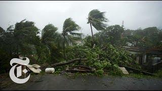 Hurricane Maria Batters Dominica - THENEWYORKTIMES