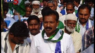 YCP Leader Mustafa Election Campaign in Gunter - TV5NEWSCHANNEL