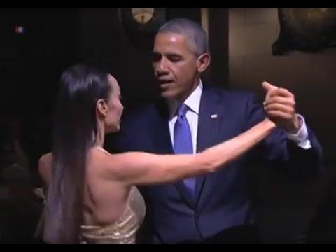 رقص تانگوی باراک اوباما در آرژانتین - عرب توداي