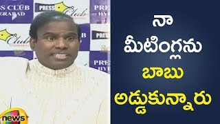 KA Paul Made Sensational Remarks on AP Chandrababu Naidu | KA Paul Latest News | Mango News - MANGONEWS