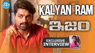 ISM Movie || Actor Kalyan Ram Exclusive Interview || Zoomin With Vrinda #1 - IDREAMMOVIES