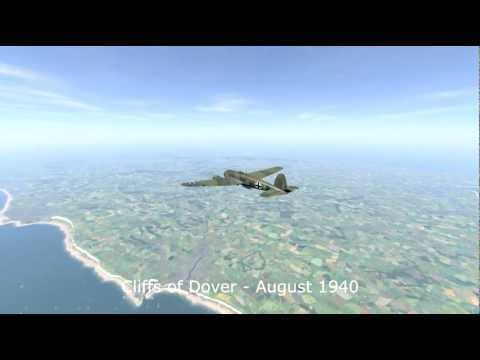 CloD He-111 Tutorial Part3 Bomb Run (english).mp4