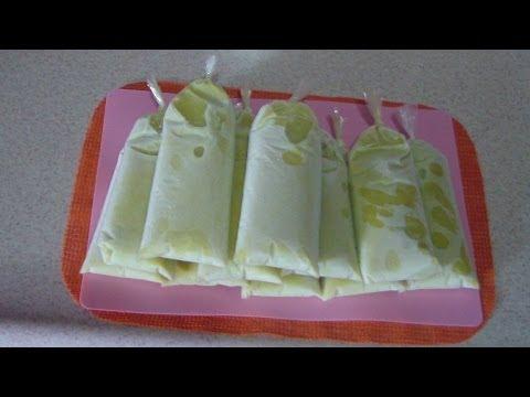 helados de pistache bolis o  saborines de pistacho