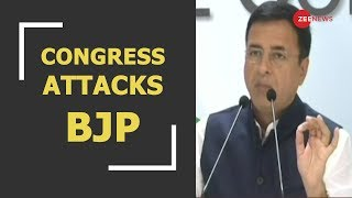 Rafale deal: Congress leader Randeep Surjewala attacks PM Modi - ZEENEWS