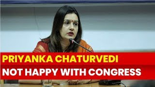 Priyanka Chaturvedi not happy with Congress for giving preference to Goons, Lok Sabha Elections 2019 - NEWSXLIVE