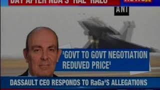 "Dassault CEO Protecting PM Modi,"" Says Rahul Gandhi On Rafale Deal - NEWSXLIVE"