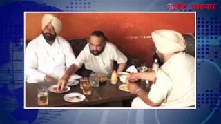 video : होशियारपुर : वर्दी में सरेआम शराब पीने वाला एएसआई कैमरे में कैद