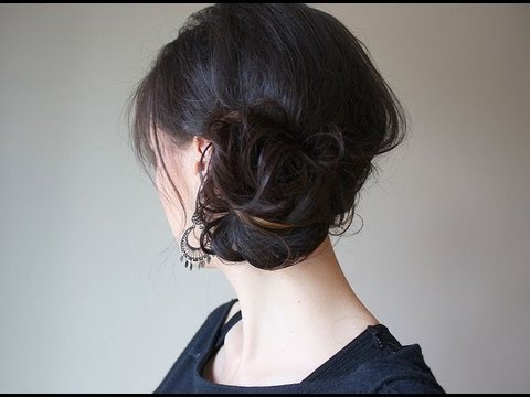 Creative Hairstyles: 3 Minute Updo