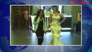 मुम्बई (वीडियो) : बॉलीवुड डिज़ाइनर सना खान ने किया फैशन शो का आयोजन