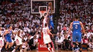 Kevin Durant Posterizes Omer Asik